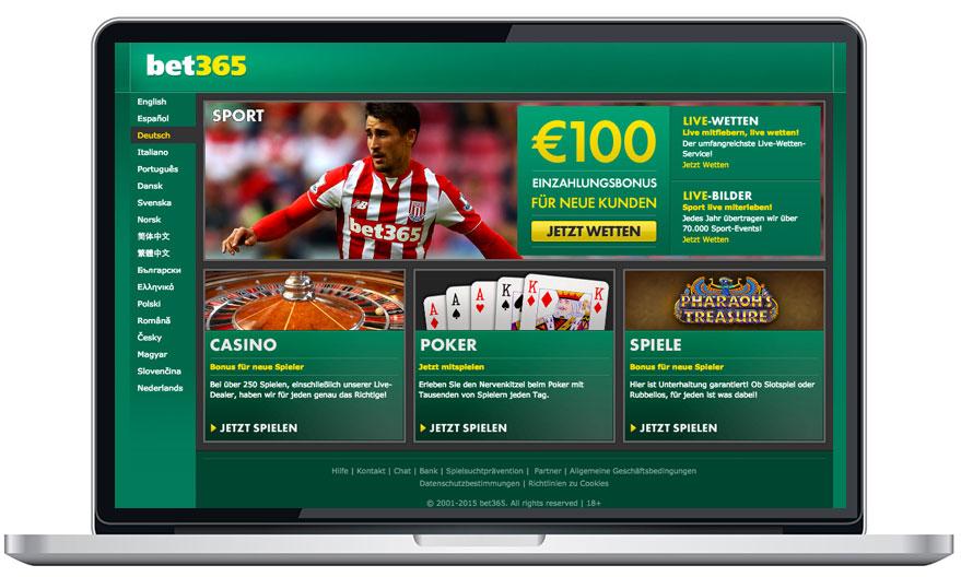 bet365 casino test