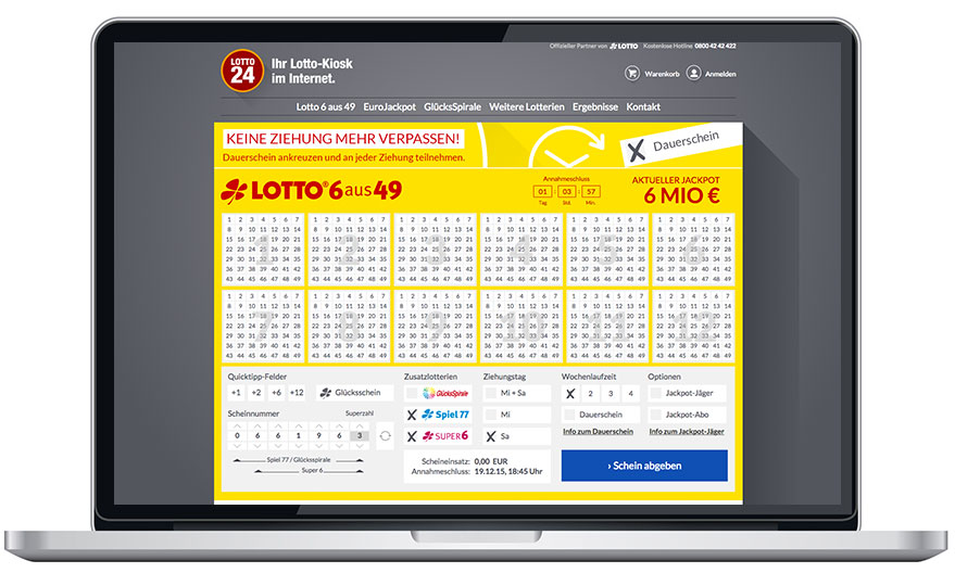 Lotto24 Test