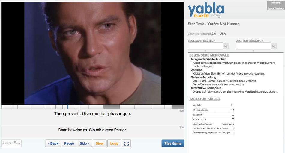 Yabla_Videoplayer