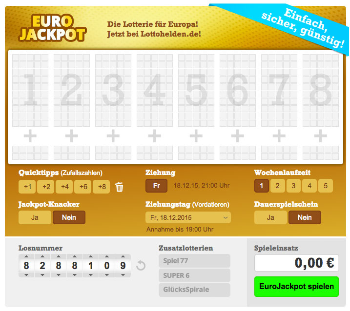 Eurojackpot Lottohelden