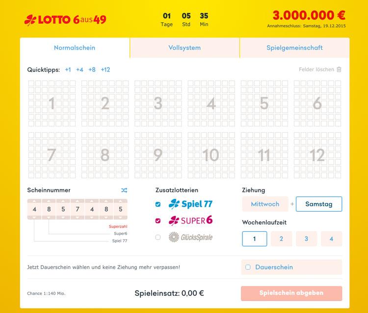 aktueller lotto jackpot deutschland