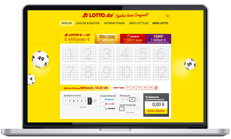lotto test