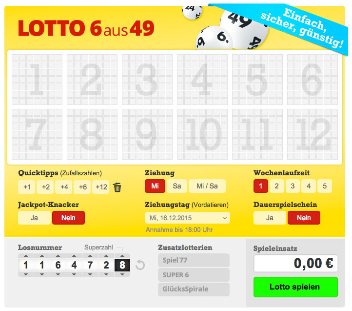 Lottohelden Login