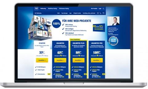 1&1 Webhosting Testbericht