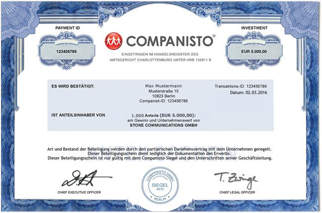 Beispiel-Zertifikat