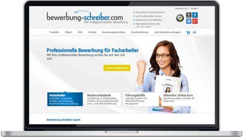 Bewerbung-Schreiber Test