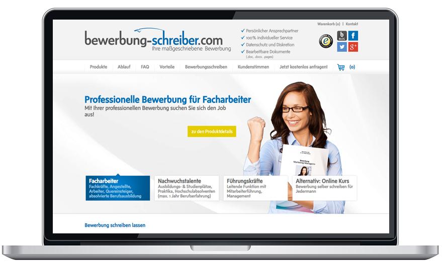 Bewerbung-Schreiber im trialo Bewerbungsservice Vergleich