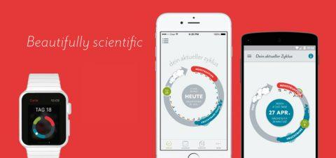 Clue, die Zyklus-Tracking-App