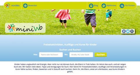 miniWo – Freizeitaktivitäten für die Kleinen unter uns