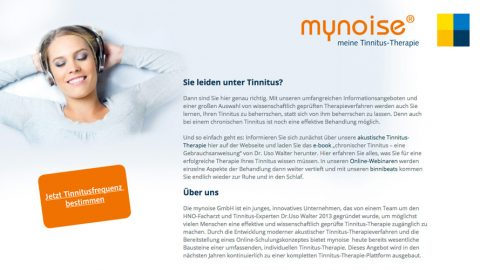 mynoise – Abhilfe gegen den nervigen Tinnitus?