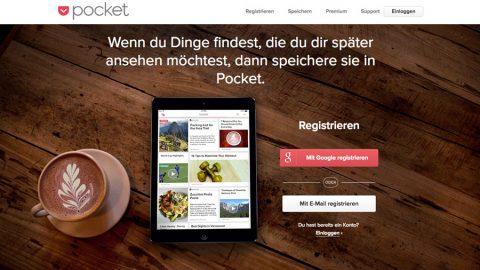Pocket – die besten Links immer und überall dabei