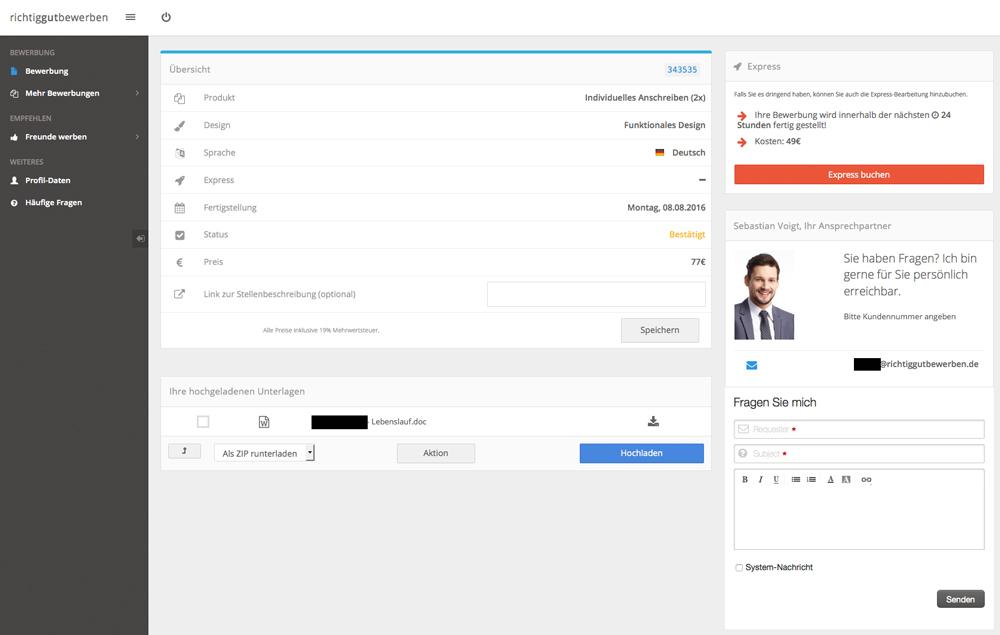 richtiggutbewerben_kundensystem