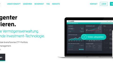 Scalable Capital – Online Vermögensverwaltung
