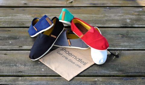Shoemates – Schuhe kaufen für den guten Zweck