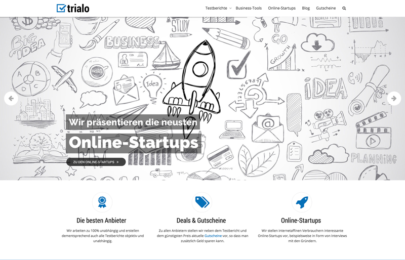 Screenshot 3 - Online-Startups