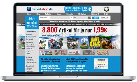 Verleihshop.de Test