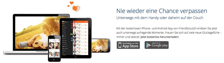 Ebenfalls wie bei Neu.de wird die identische App angeboten