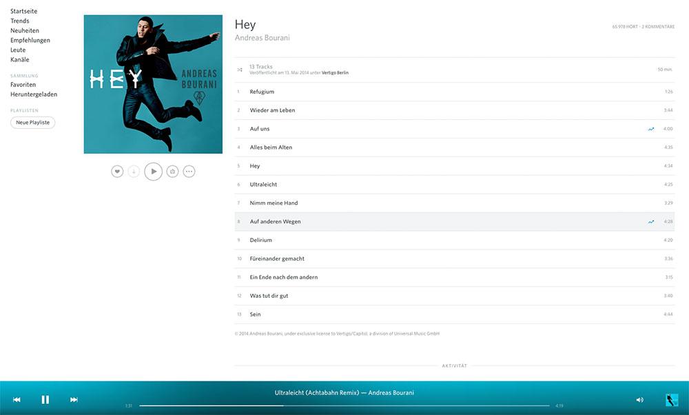 Album-Ansicht-rdio