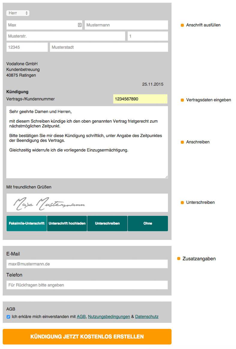 Contractix_Kündigung
