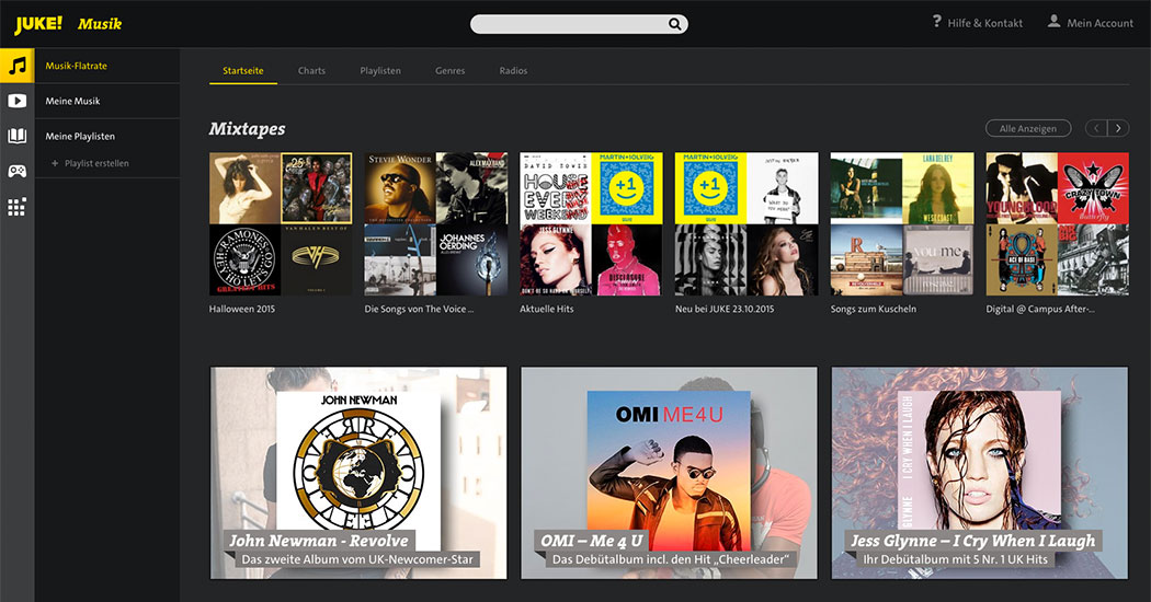 Juke_Music_Startseite