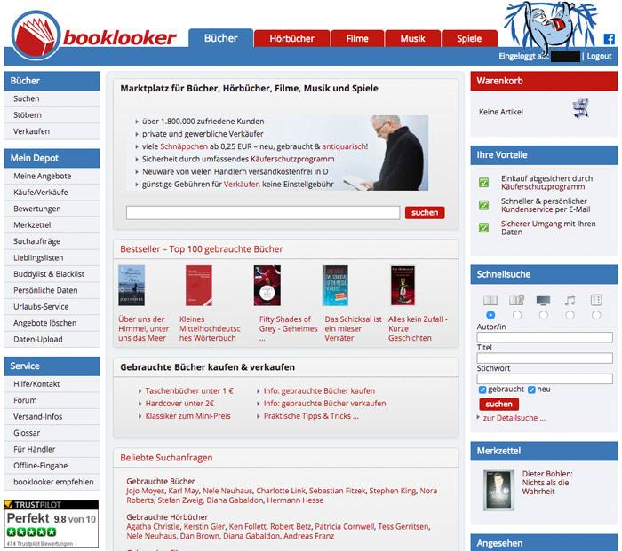 Booklooker Test