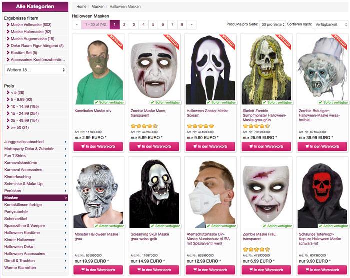 masken-auswahl