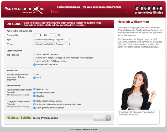 Test partnersuche online